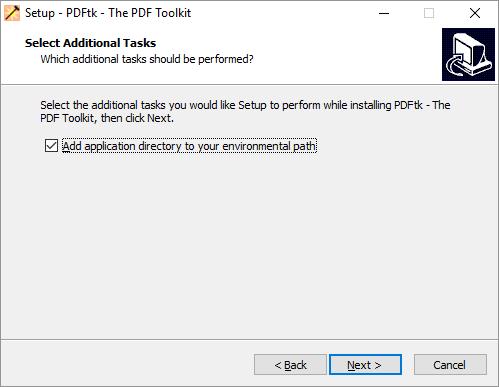 pdftk-install